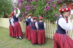 Kolkas koklētājas nobraukušas pie igauņiem uz Kihnu salu laimes meklēt. 25.05.2019 Daces Čoderas foto