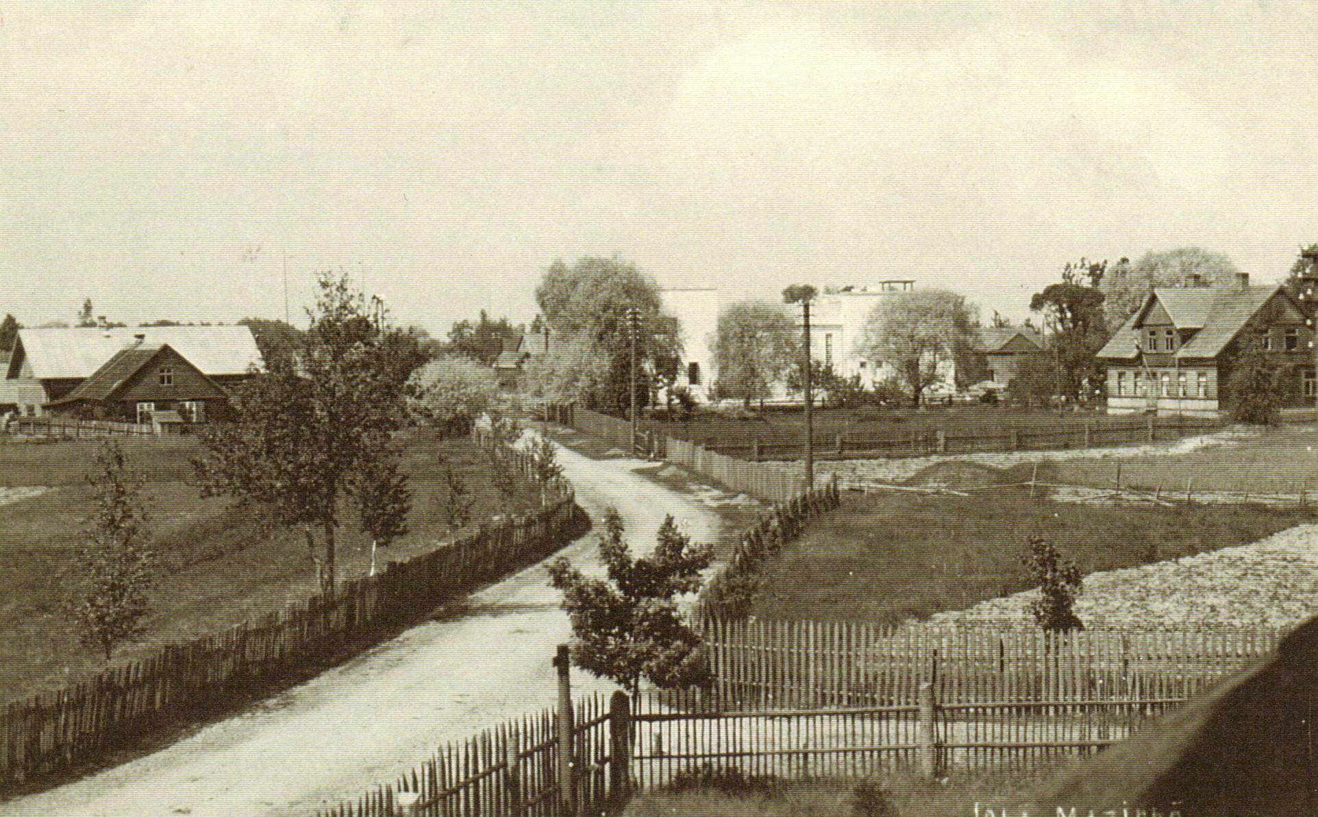 Mazirbe 1939. gadā