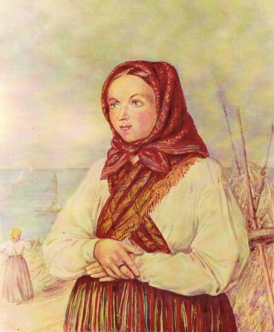 Lībiešu meitene
