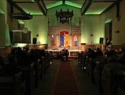 Haralds Sīmanis koncertā Kolkas ev.lut. baznīcā 26.10.2019